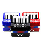 3Color 17 Treble Buttons Keys 8 Bass Buttons  Piano Accordion For Kids Beginner