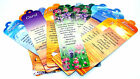 Female Names Cardboard Book Mark - 27 Different Glossy Designs - Page Mark