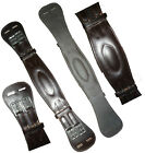 Soft Padded Shaped Leather Dressage Girth Eventing Anatomically Brown Black Size