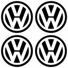 Volkswagen VW Logo Decal Graphic X4  - Various Sizes and Colours with FREE P&P