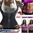 Neoprene Sauna Sweat Belt Waist Trainer Sports Vest Body Shaper Underbust Corset