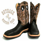 Twisted X Men's Lite Black Cowboy Steel Toe Work Boot MLCS005