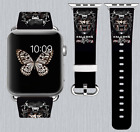 Atlanta Falcons Apple Watch Band 38 40 42 44 mm IWatch PU Leather Strap 183 on eBay