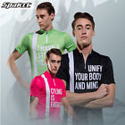 SPAKCT Summer Cycling Short Sleeves Quick Dry Breathable Anti-Sweat Three Colors