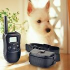 Dog Trainings 300m Remote LCD Digital Display Stop Barking Dog Training Collor
