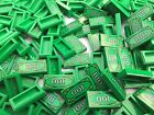LEGO 3069 - NEW 5 Pieces Per Order / '100' Dollar Minifigure Green Money