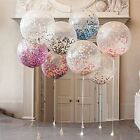 "12""Colorful Latex Helium Confetti Balloons Birthday Wedding Party Decors Balloon"