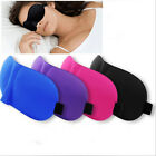 3D Sleeping Eye Mask Shade Travel Aid Comfort soft Blindfold Cover Light Guide