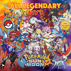 Pokémon SUN & MOON - ALL 60 LEGENDARY PKMN - Competitive 6IVs - Shiny⭐️ No Shiny