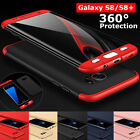360 Full Cover Shockproof Slim Hard Case For Samsung Galaxy S7 S7 edge S8 / Plus