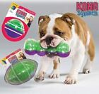 Kong Sqrunch - Interactive Dog Puppy Squeaky Crackle Fetch Toy - 2 Fun Sounds!