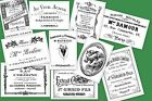 French ephemera A5 OR A4 size decoupage sheets - decor for shabby chic furniture