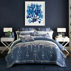 Satin Doona/Quilt Cover Set Pillow Cases Duvet Cover Queen/King Size Bed Sets