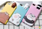 Squishy 3D Lovely Soft Bear Silicone Phone Case Cover For iPhone 6/6S/7P