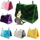 USA Bird Hammock Plush Hanging Cave Cage Parrot Snuggle Happy Hut Bed Tent Toy