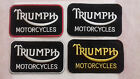 Triumph Motorcycles Badge embroidered iron on sew on patch £1.95 GBP on eBay