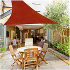 "2 Pack Triangle 9'10""  Sun Shade Sail Patio Outdoor Canopy UV Block Top Cover"