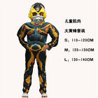 Kids Cosplay Transformers Costume+Mask Muscle Style Bumble Bee Optimus Prime COS - Time Remaining: 1 day 22 hours 28 minutes