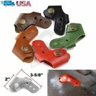 Universal Motorcycle Accessories Leather Gear Shift Sock Peg Cover Protector New