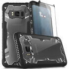 Samsung Galaxy Note 8 / S8 / S8 Plus Case, Zizo Proton 2.0 w/ Glass Screen