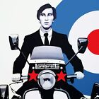Quadrophenia Jimmy Cooper The Who Canvas Movie Poster Film Print Wall Art Mods