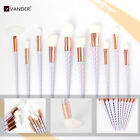 White hair unicorn Makeup brush ten pcs-NEW