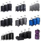 2/3/4/5Pcs Luggage Set Expeditions Bag Trolley Spinner Suitcase W/Lock Rolling Wheels