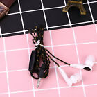 3.5mm Nylon Wired In Ear Headset Earbuds Earphones Music with Mic Answer Calls