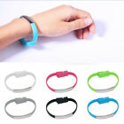 New Bracelet Wrist Band Cell Phone USB Cable Mobile Phone Data Charger Lines
