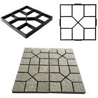 New Driveway Paving Pavement Mold Concrete Stepping Stone Path Walk Maker 8 grid
