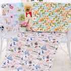 75*120 Cotton Baby Nappy 3 Layers Changing Pads Cover Mat Urine Pad Waterproof