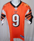 Cincinnati Bengals Carson Palmer Replica Sewn Football Jersey Orange #9