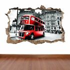 London Bus hole in the wall iconic feature sticker decal adult kids fun style