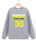 STEPHEN CURRY 30 - KIDS YOUTH JERSEY HOODIE SWEATSHIRT WARRIORS (1), SZ XS-XL