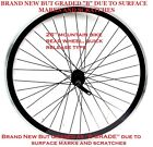 "NEW B GRADED 26"" MOUNTAIN BIKE REAR WHEEL,  MARKED / SCRATCHED BUT UNUSED NEW !"
