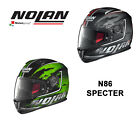 NOLAN N86 'SPECTER' GRAPHIC FULL FACE MOTORCYCLE HELMET - MADE IN ITALY