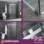 Salter Premium Shower Enclosure Chrome Easy Clean Glass 10mm The Bath People