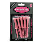 """Pack of 10 Consistent Tee 3 1 4"""" Durable,  Biodegradable Tees for Perfect Height"""