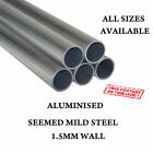 """1.5"""" TO 4"""" ALL LENGTHS SIZES ALUMINIZED MILD STEEL TUBES EXHAUST REPAIR"""