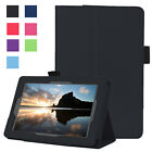 PU Leather Luxury Slim Smart Stand Cover Case For Amazon Kindle Fire 7 5th Gen
