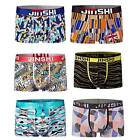6 pack boxer brief man underpants comfortable soft underwear U pouch