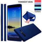 For Samsung Galaxy Note8 S8/S9 Luxury Slim Soft Rubber TPU Shockproof Case Cover