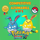 Pokémon ORAS / XY – COMPETITIVE AZUMARILL 6IV's Shiny / No Shiny
