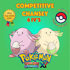 Pokémon ORAS / XY – COMPETITIVE CHANSEY 6IV's Shiny / No Shiny