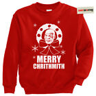 Merry Chrithmith Mike Tyson Punch out ugly tacky Christmas Eve party elf sweater