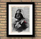 DARTH VADER STAR WARS CHARACTER PRINT Gift Present Fathers Day Birthday Husband £5.0 GBP