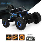 HB P1802 2.4GHz 1:18 RC Car Rock Crawler 4WD Off-road Race Truck Toy US STOCK