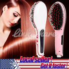 HOT Straight Hair Comb Simply LCD Heat Digital Brush Electric Straightening XI