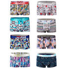 8 pack men underwear boxers brief soft stretch bamboo trunks shorts bulge pouch
