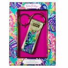 NEW LILLY PULITZER WOMENS EXOTIC GARDEN KEY FOB